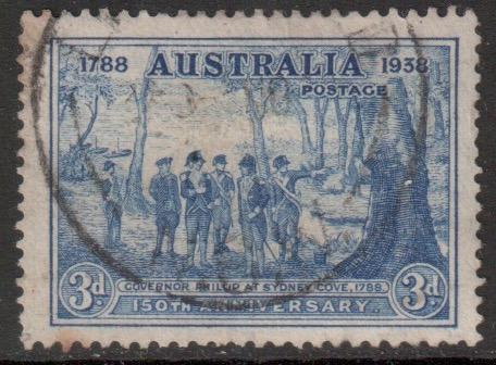 Australia Scott 164 - SG194, 1937 New South Wales 3d used