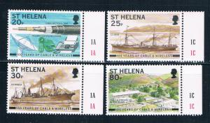 St Helena 745-48 MNH set Cable and wireless Centenary 1999 (S0952)
