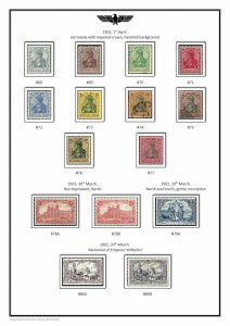 Germany complete collection (18 albums) 1872-2021 PDF STAMP ALBUM PAGES