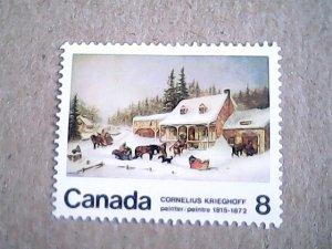 1972  Canada  #610  MH