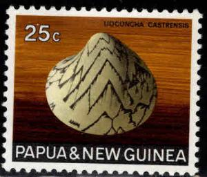 PNG Papua New Guinea Scott 274 MH* shell stamp