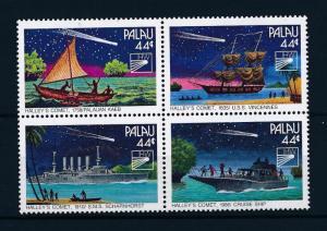 [56533] Palau 1985 Space Travel Halley Comet Ship MNH