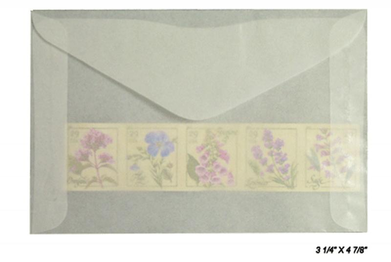 1000 count - Glassine Envelopes #4 - ACID FREE - size 3 1/4 x 4 7/8
