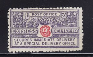 New Zealand Scott # E1 F-VF OG mint hinged nice color scv $ 60 ! see pic !