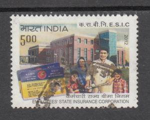 India 2012  # 2566   Employees State Insurance Corporation    Used        03891