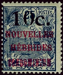 New Hebrides Attractive SC#34 Mint Fine...Grab a Bargain!