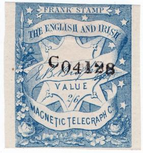 (I.B) English & Irish Magnetic Telegraph Company 2/6d
