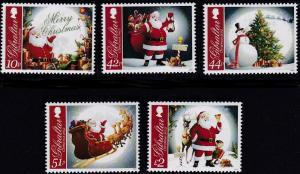 Gibraltar MNH 1359-63 Christmas 2012