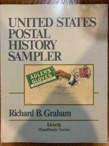 US Postal History Sampler by Graham 1992, Stamp Philately Book