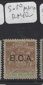 BRITISH CENTRAL AFRICA  (P2909B)  ARMS    3/-       SG 10      MNG