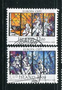 Iceland #639-40 Used