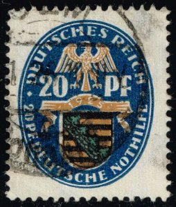Germany #B14 Arms of Saxony; Used (2Stars)