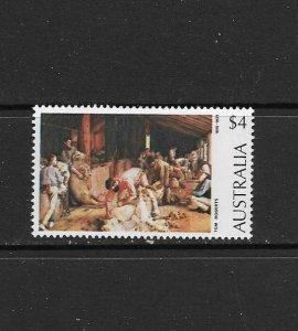 AUSTRALIA - 1974 SHEARING THE RAMS - SCOTT 576 - MNH