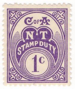 (I.B) Australia - Northern Territory : Stamp Duty 1c