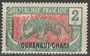 Ubangi-Chari #24 F-VF Unused (V3110)