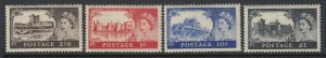Great Britain, Scott 309-312 (SG 536-539), MHR