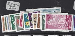 NEW ZEALAND (PP2111B)  DECIMAL DEFS SG 845-862   MNH