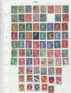 france stamps ref 12051