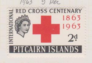 Pitcairn Islands Sc#36 MH