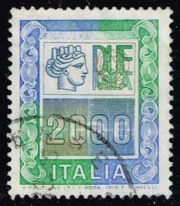 Italy #1292 Italia; used (0.25)