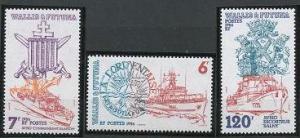 Wallis and Futuna 342-344 MNH (1986)