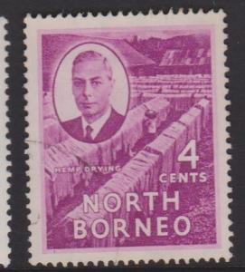 North Borneo Sc#247 Used