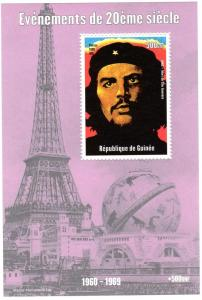 Guinea 1998 Death of Che Guevara 1965 SS(1)MNH VF