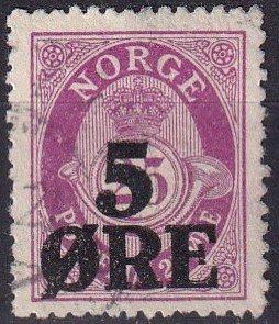 Norway #99  F-VF Used  (K2844)