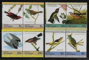 Tuvalu Niutao 25-8 Birds Mint NH