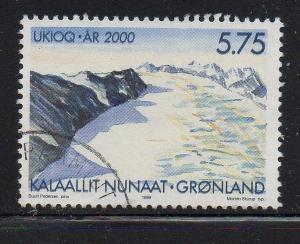 Greenland Sc 357 1999 Millennium stamp used