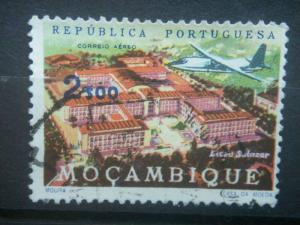 MOZAMBIQUE, 1963, used 1e50, AIR POST, Scott C30
