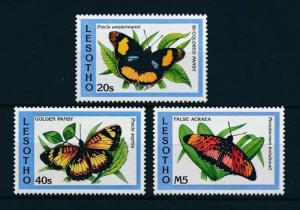 [99092] Lesotho 1993 Insects Butterflies From set MNH
