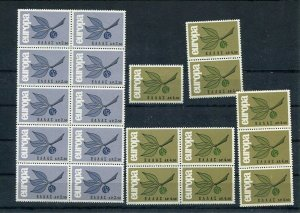 D093793 Europa CEPT 1965 Leaves & Fruit Wholesale 10 Series MNH Greece