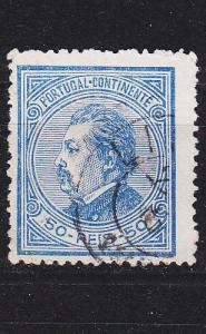 PORTUGAL [1880] MiNr 0053 C ( O/used )