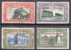 Somalia Sc# B25-B28 MNH 1929 Semi Postal Overprint