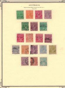 Australia #19-37  CV $144.60  On Scott Specialty album page