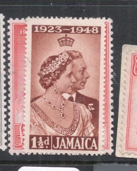 Jamaica Silver Wedding SG 187-8 MOG (11dlk)