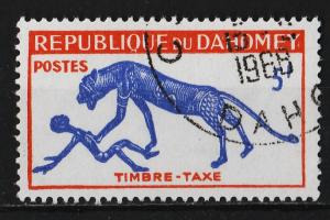 Dahomey 1963 Postage Due Stamps 5F (1/5) USED