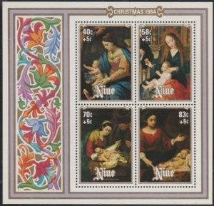 Niue #461 MNH Souvenir Sheet