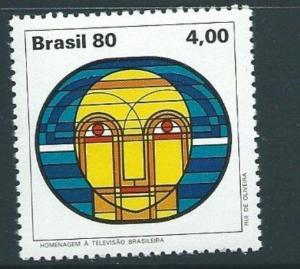 BRAZIL SG1840 1980 BRAZILIAN TELEVISION MNH