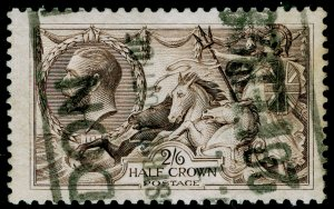 SG413a, 2s 6d olive-brown, USED. Cat £100.