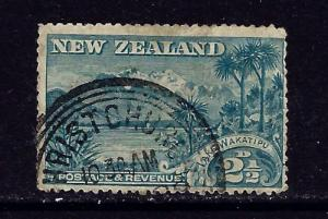 New Zealand 74 Used 1898 issue perfs slightly shortened on right side