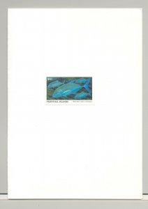 Marshall Islands #184 Fish 1v Imperf Proof in Folder