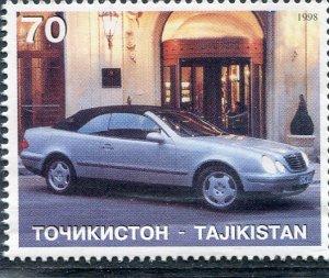 Tajikistan 1998 CLASSIC CARS Stamp Perforated Mint (NH)