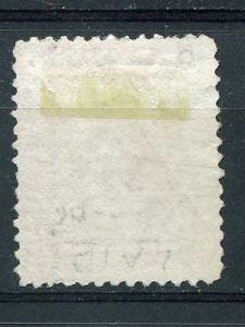 Canada #33  used  laid paper  very scarce stamp