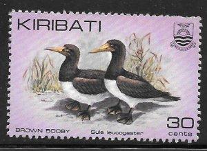 Kiribati 393: 30c Brown Booby (Sula leucogaster), used, VF