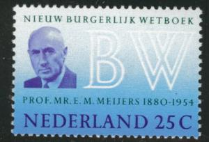 Netherlands Scott 480 MNH** 25c 1969 stamp