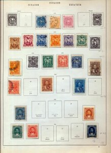 ECUADOR Early/Mid M&U Collection(Appx 100 Items)NS 111
