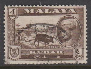 Malaya Kedah Sc#88 Used