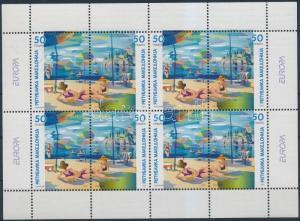 Makedonien stamp Europa CEPT holiday minisheet MNH 2004 Mi 317-318 WS175263